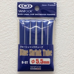 Vanfook B-ST Blue Shrink Tube 1m