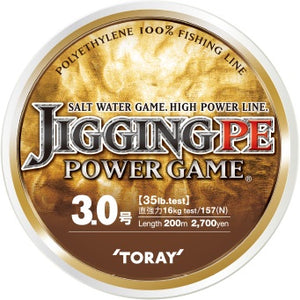 F71V Toray Jigging PE Power Game 200m