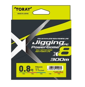 Toray Jigging PE power game X8 300m