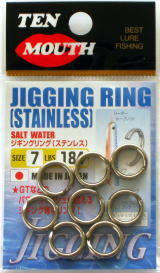 Ten Mouth TM8 Jigging Split Ring