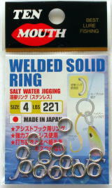 Ten Mouth TM9 Welded Solid Ring