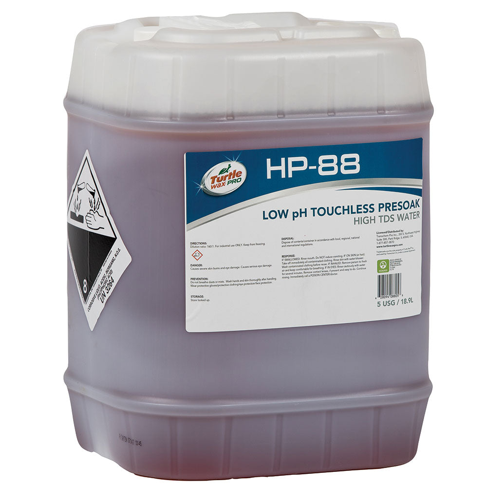 TWI HP 88 - Turtle Wax® Low pH Touchless Presoak High TDS Water
