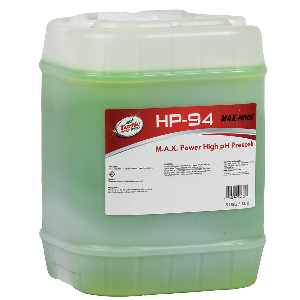 HP 94 - Turtle Wax® Pro M.A.X Power High pH Presoak