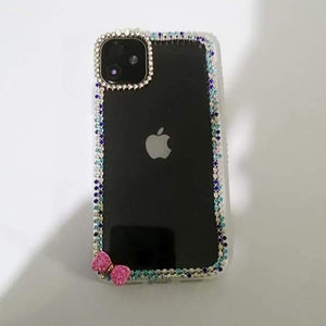 Carcasa Pink Diamond Glitter para iPhone 11