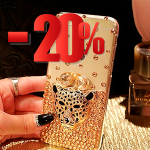 Carcasa Diamond Leopard para iPhone 11