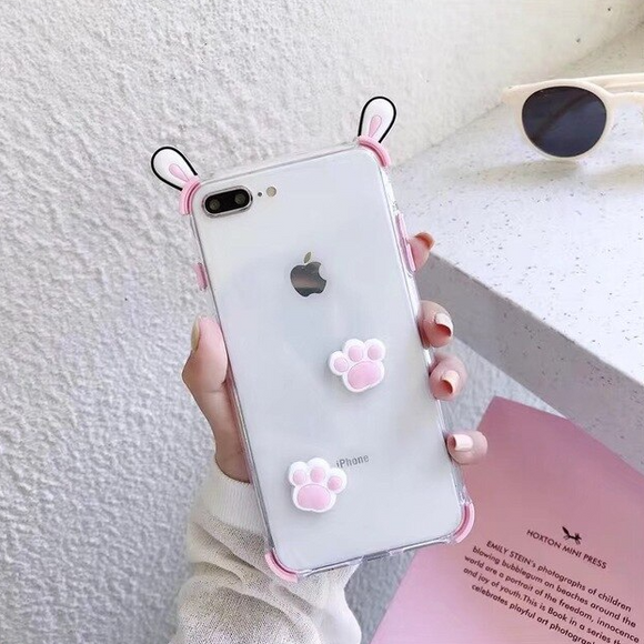 Carcasa CHien Rose para iPhone 7 Plus y 8 Plus