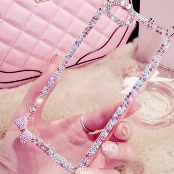 Carcasa Pink Diamond Glitter para iPhone 11 Pro