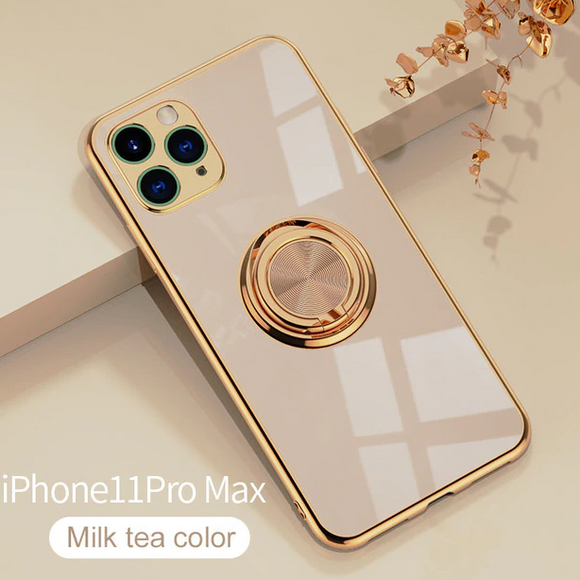 Carcasa de Lujo (Milk Tea) Perla para iPhone 11