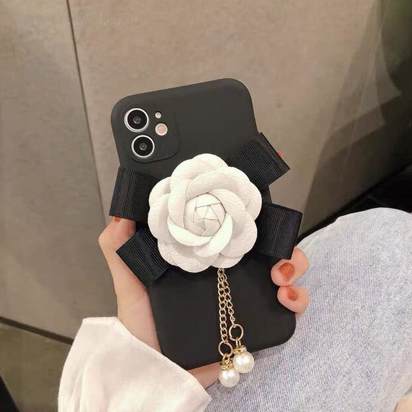 Carcasa Rose dy Black para iPhone 11