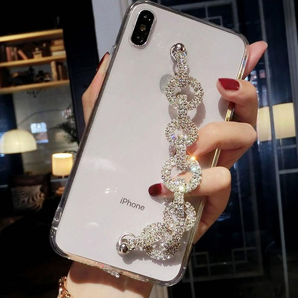 Carcasa Cadena Diamond para iPhone XR
