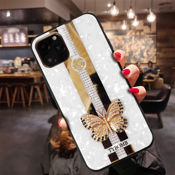 Carcasa fancy butterfly para iPhone 11