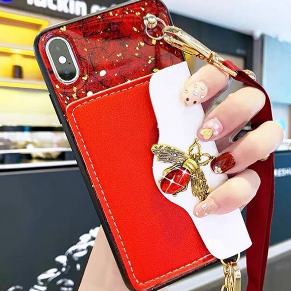 Carcasa abellie red billetera para iPhone X / XS