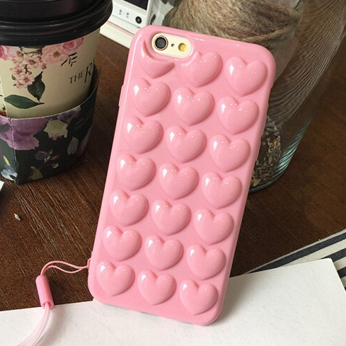Carcasa Bubble Heart para iPhone 7 y 8 Plus