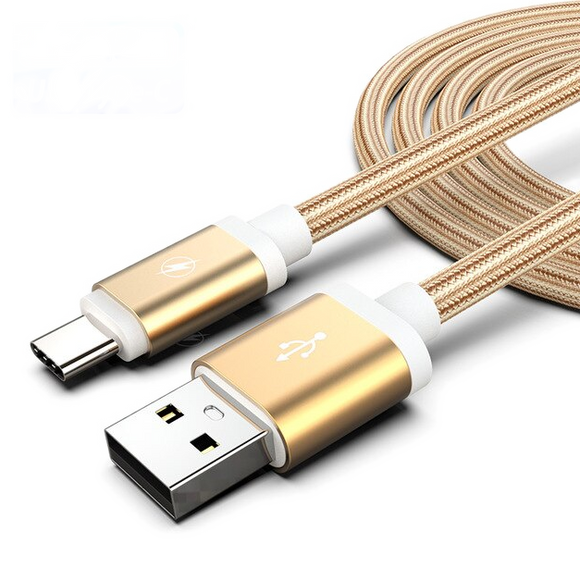 Cable USB conector tipo C 1m