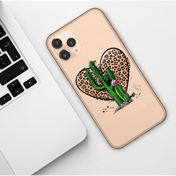 Carcasa cactus love para iPhone 11