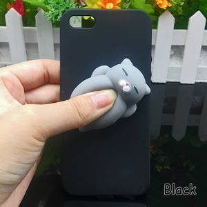Carcasa Cat Black 3D para iPhone 11