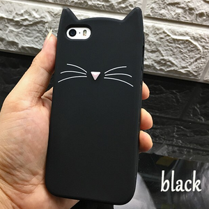 Carcasa Cat black para iPhone 7 y 8