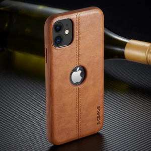 Carcasa de cuero premium para iPhone 7 y 8 Plus