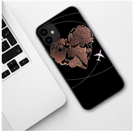 Carcasa Worldwide Hearth iPhone XR