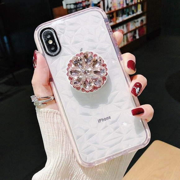 Carcasa Diamond Pink para iPhone XR