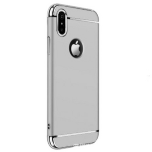 Carcasa de lujo color plata para iPhone XS Max