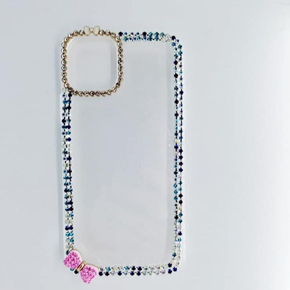 Carcasa Pink Diamond Glitter para iPhone 11 Pro Max