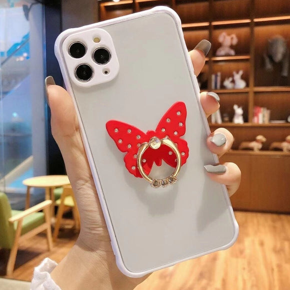 Carcasa Red diamond Butterfly para iPhone 11 Pro Max