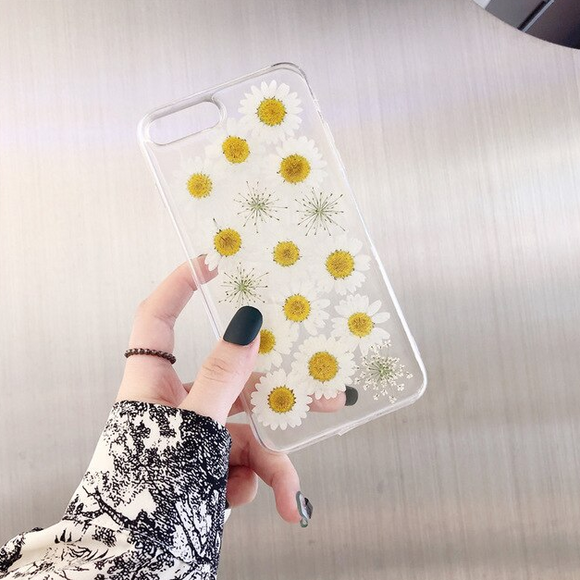 Carcasa Chamomile Flowers  para iPhone SE