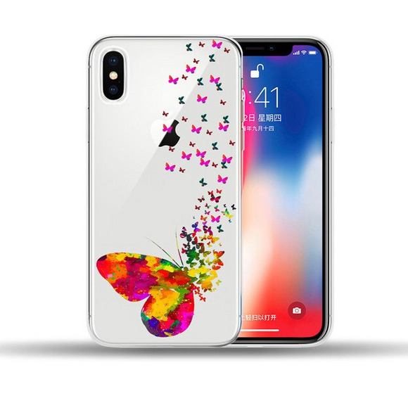 Carcasa Butterfly para iPhone XS Max