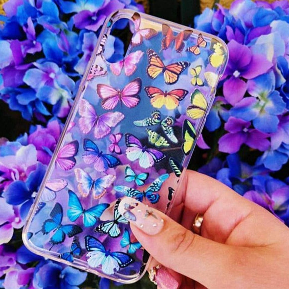 Carcasa Butterfly para iPhone XR