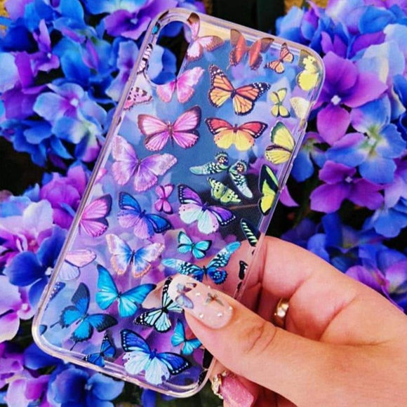 Carcasa Butterfly para iPhone X y XS
