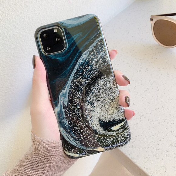 Carcasa Galaxia Brillante para iPhone 11 Pro