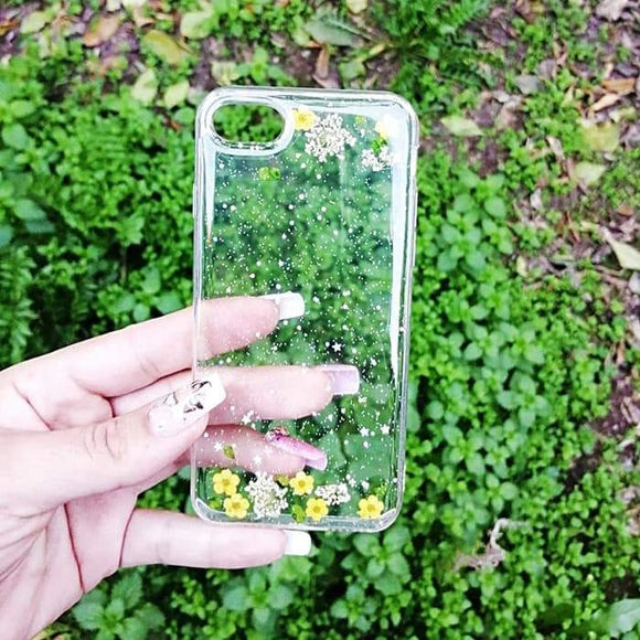 Carcasa flowers para iPhone 7 Plus y 8 Plus