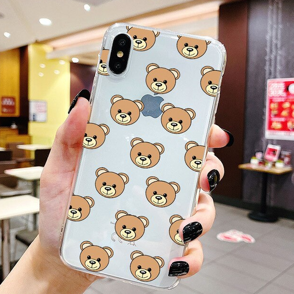 Carcasa Oso Mochino para iPhone XR