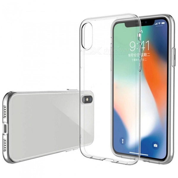 Carcasa para iPhone X / XS transparente