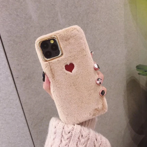 Carcasa suave heart para iPhone 11