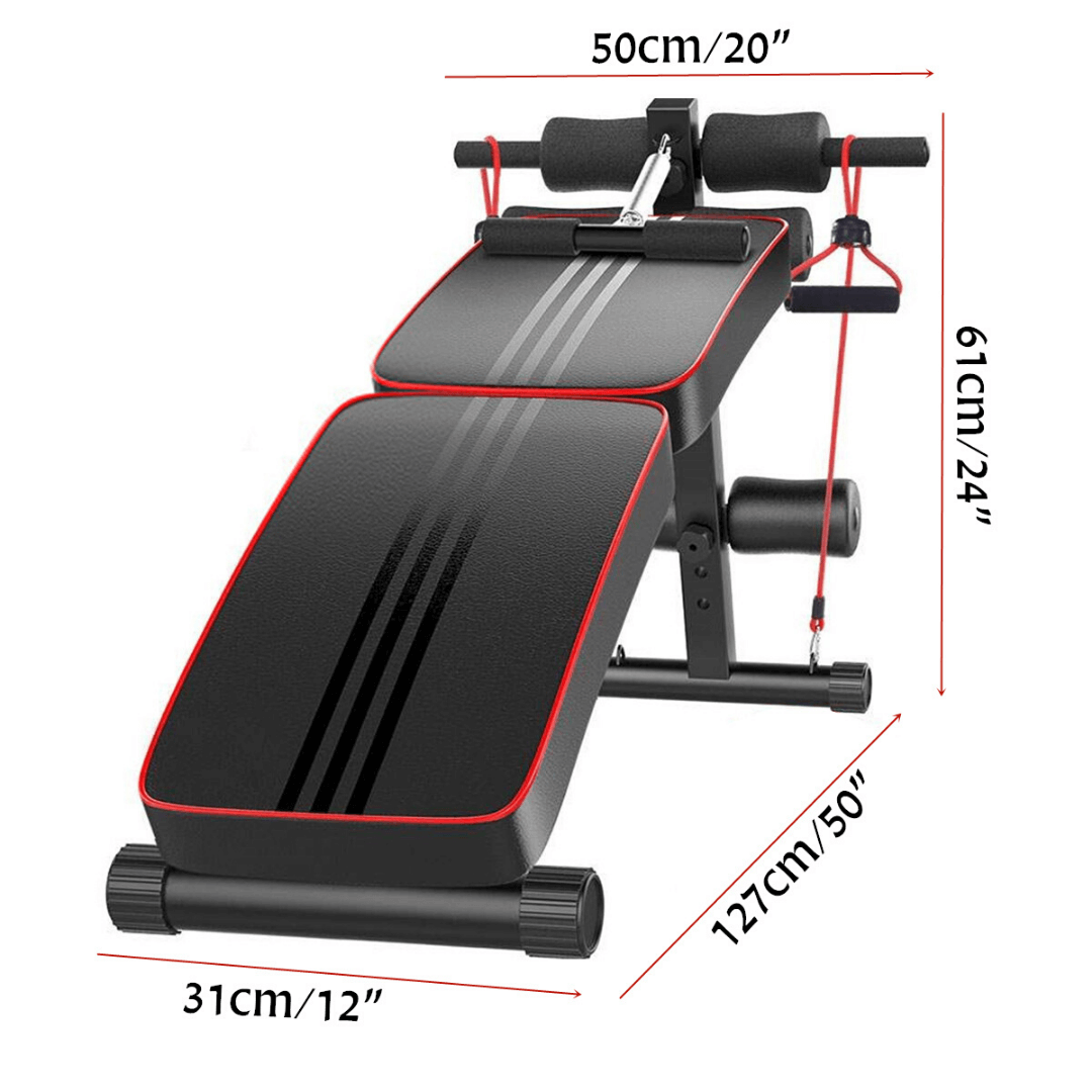 Foll body workout core strength sit up push pull exercise best workout station size dimensions