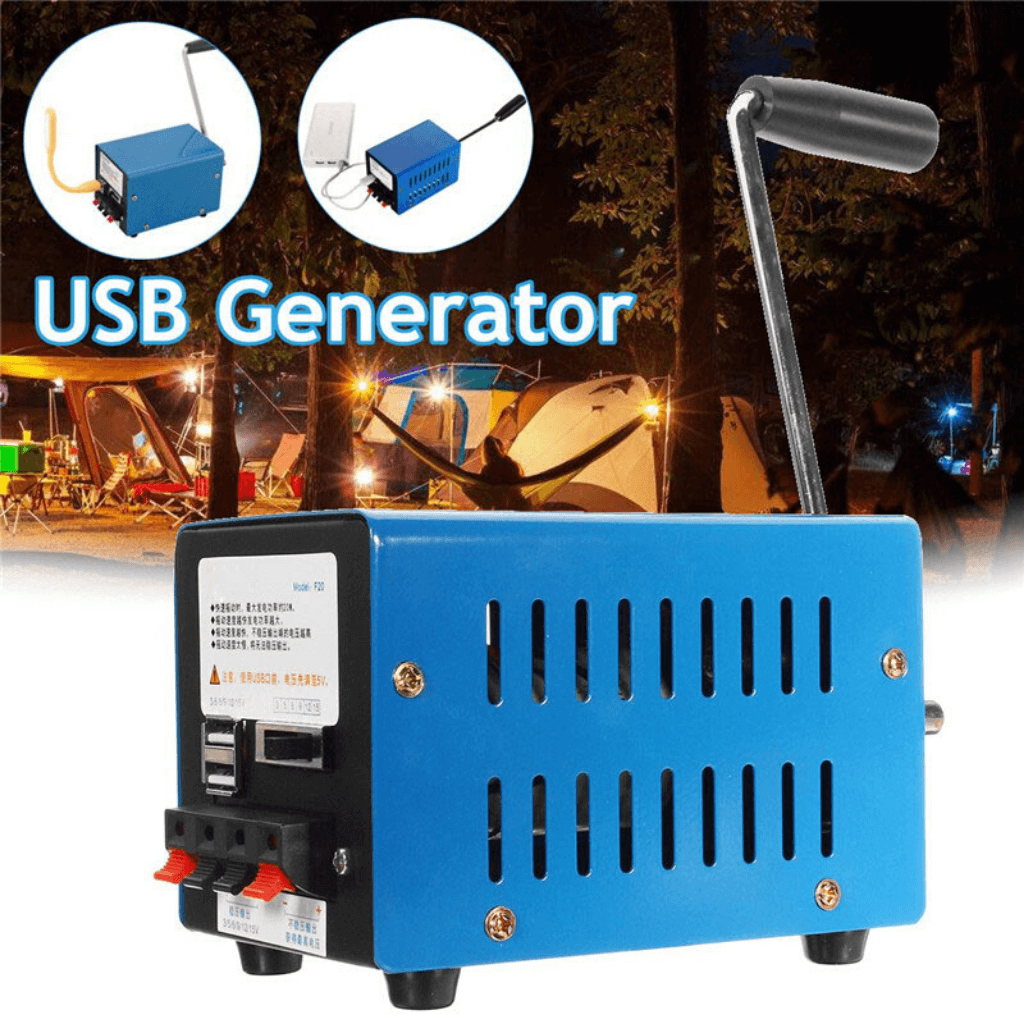 USB power electricity generator cook a warm meal soup dinner tea while camping hiking outdoors
