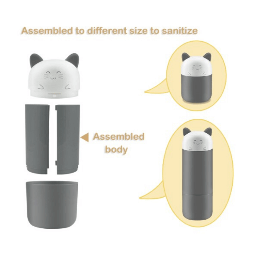 easy assembly UV cup and bottle sterilizier