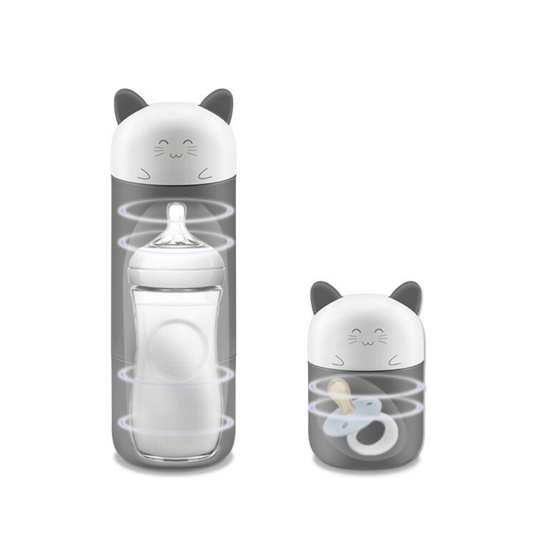 uvkitty UVC ozone sterilizer bottle cup cute cat cartoon for baby toys