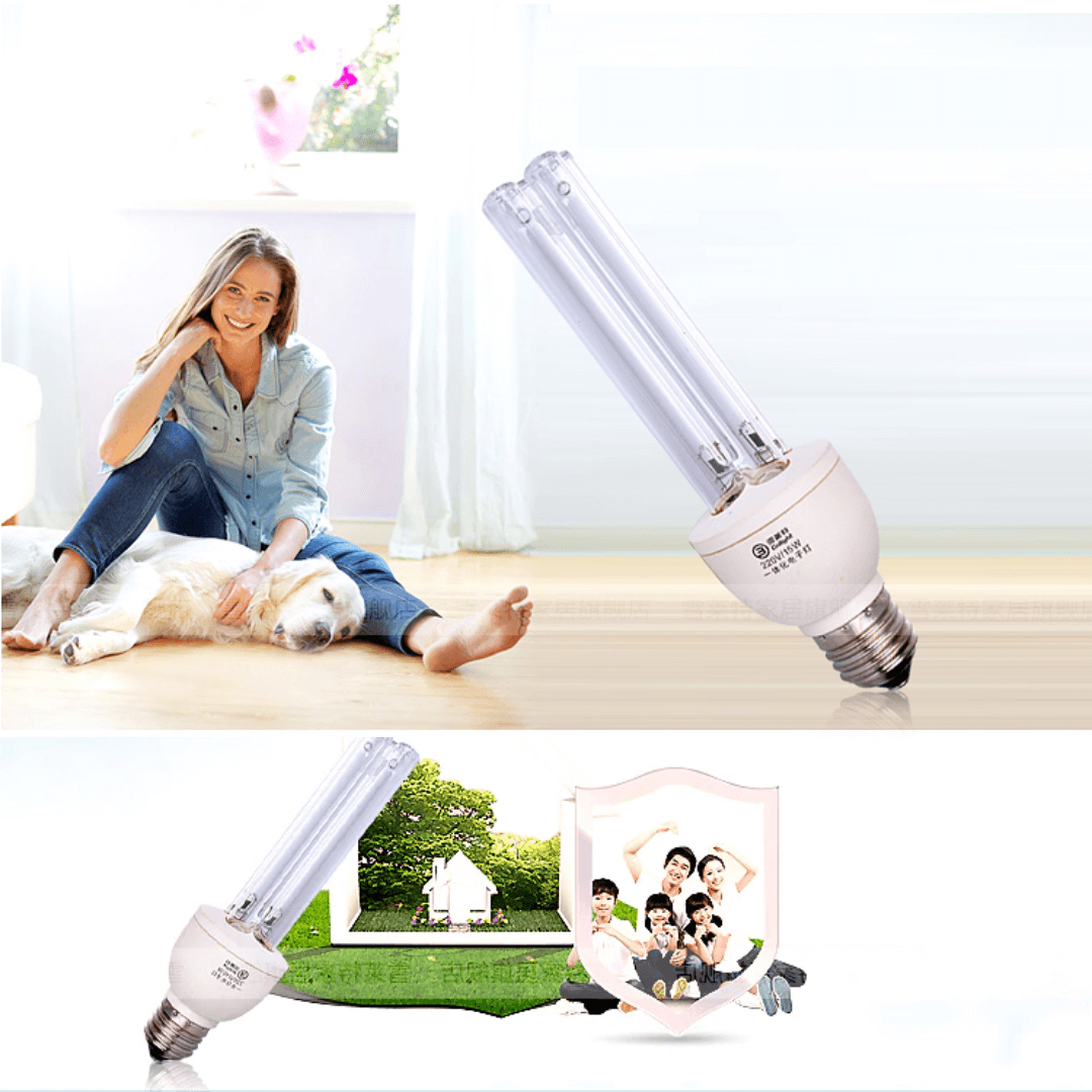 UVC disinfection at home for safe living environment UV sterilizer light bulb tube