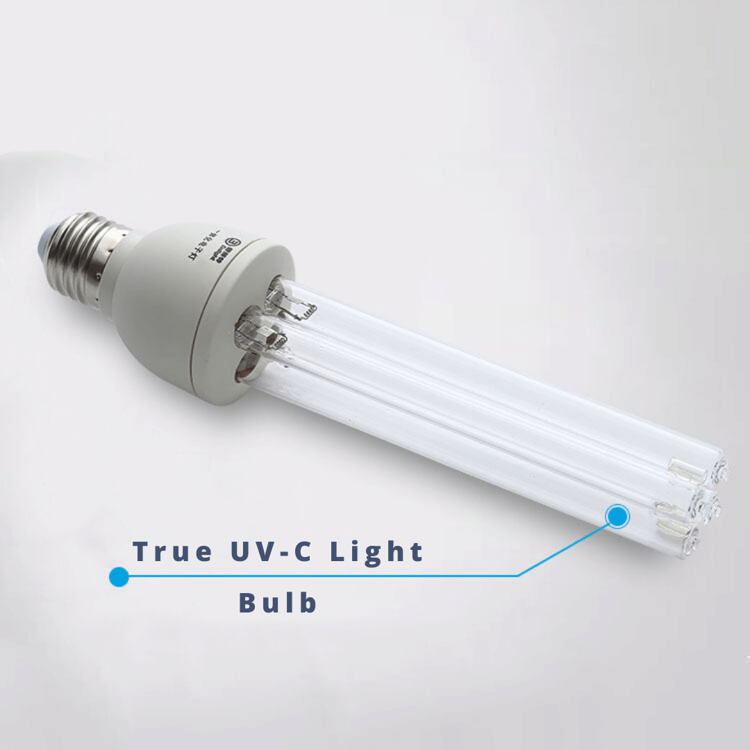 true uv uvc uv-c light bulb sterilization sanitation disinfection tube bulb