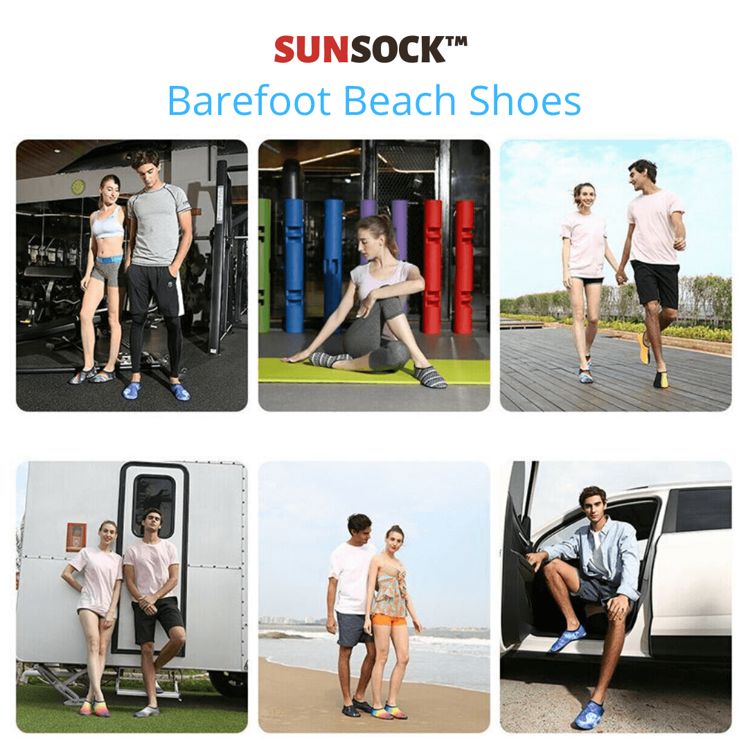 Lifestyle beach shoes barefoot socks anti-slip shoes