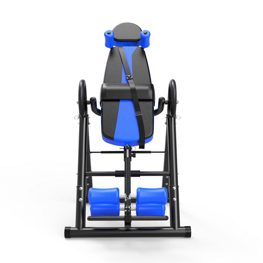 home inversion table with security belt buzzbarrell