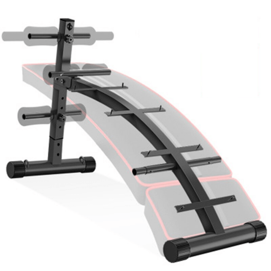 Full body complete home workout station sit ups push pull steel construction durable effective