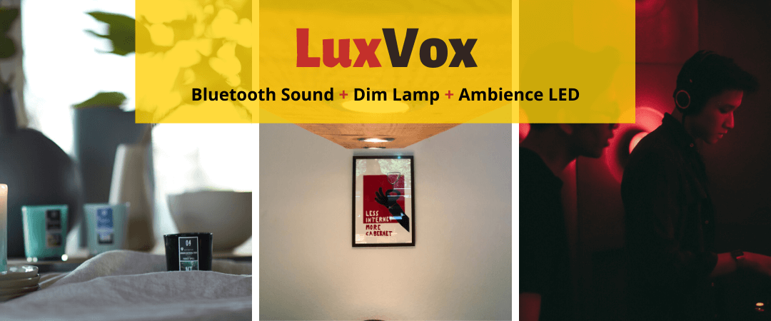luxvox smart home ceiling light led ambiance