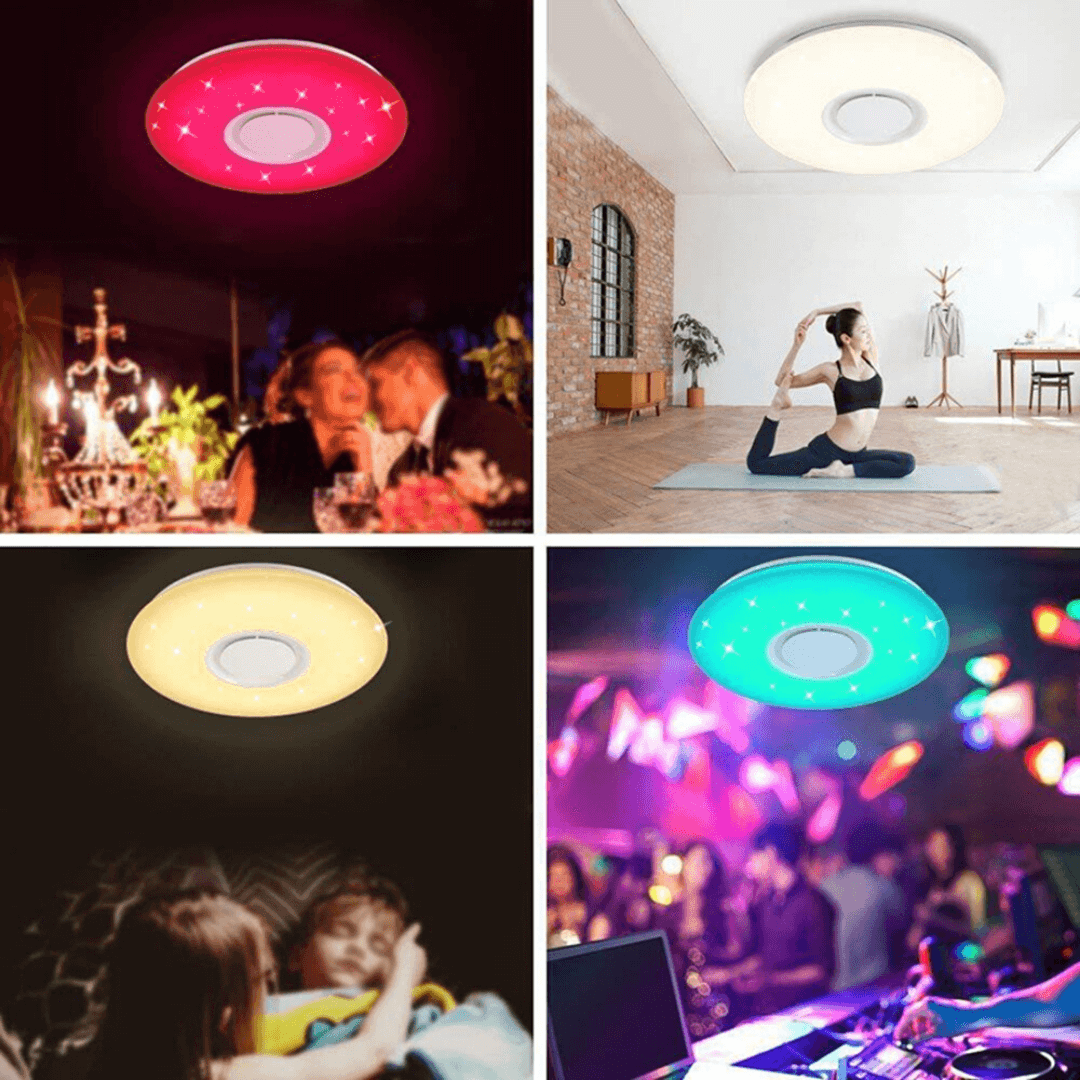 luxvox LED ceiling light fits every occasion and mood you like