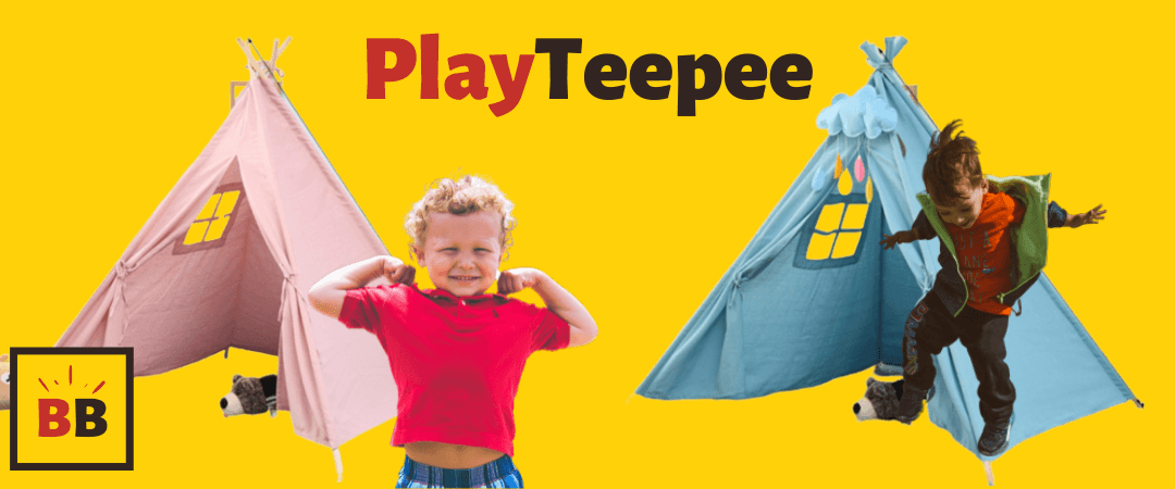play teepee wigwam tent cotton boy girl tent toy play tea party home
