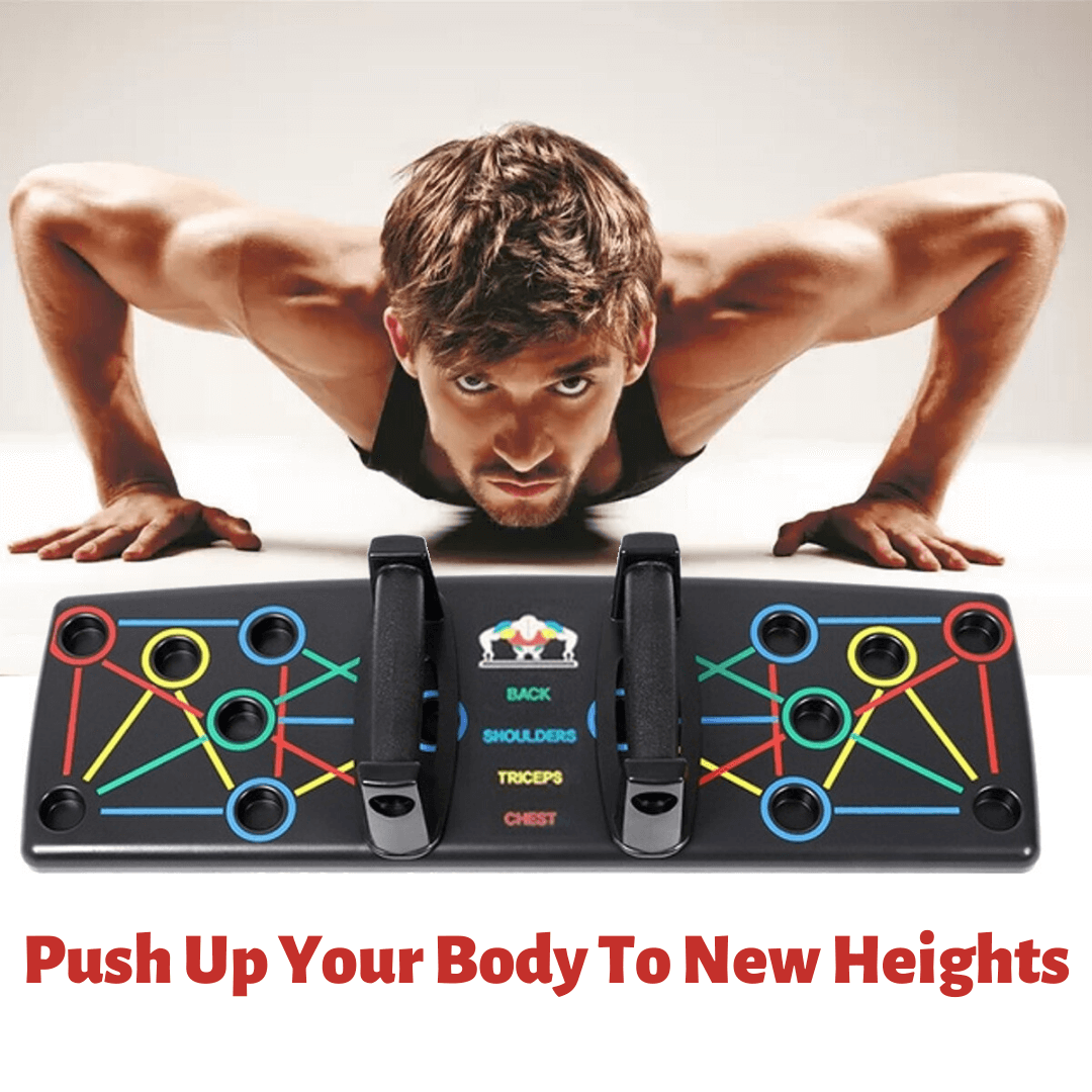 best push up solution for home workout fitness exercise training