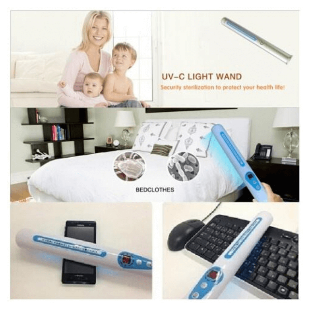 hospital home room disinfection uv lamp light wand